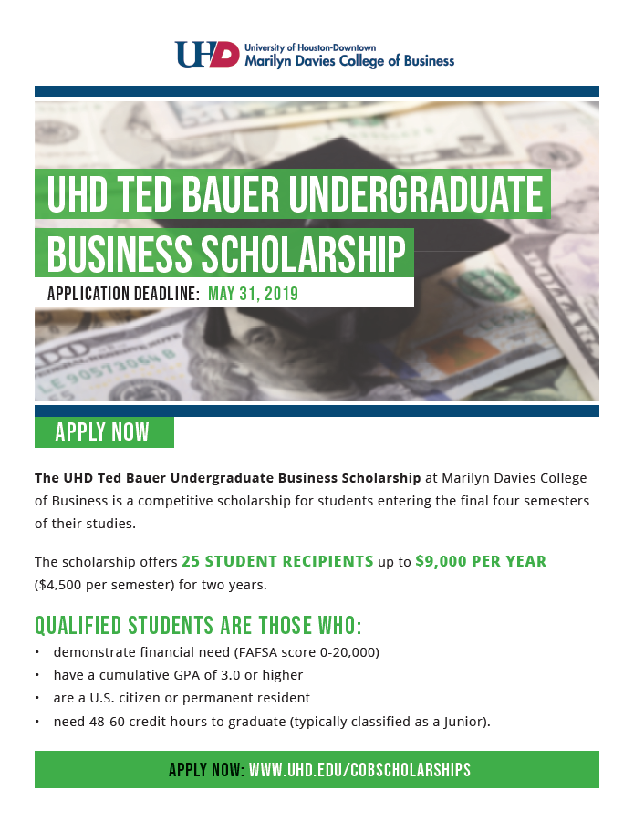 Ted Bauer Scholarship jpg
